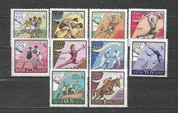 URSS - 1960 - N. 2310/19** (CATALOGO UNIFICATO) - Neufs