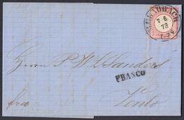 BRUSTSCHILD Nr.19 Als EF Auf Grenzrayon-Brief K2 M'GLADBACH Nach Venlo / Holland Vom 7.6.73 (rh20) - Brieven En Documenten