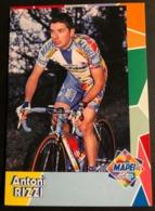 Antoni Rizzi - Mapei - 2000 - Carte / Card - Cyclists - Cyclisme - Ciclismo -wielrennen - Cycling
