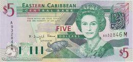 TWN - MONTSERRAT 42m - 5 Dollars 2003 Prefix A UNC - Ostkaribik