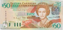 TWN - MONTSERRAT 45m - 50 Dollars 2003 Prefix A UNC - Ostkaribik