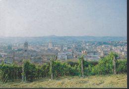Italia Formato 10x15:Cartolina POGGIBONSI(SI) : PANORAMA.viaggiata. - Siena