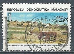 Madagascar YT N°875 Fonds International De Développement Agricole Oblitéré ° - Madagaskar (1960-...)