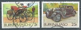 Burkina Faso YT N°645/646 Automobiles Anciennes Oblitéré ° - Burkina Faso (1984-...)
