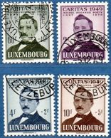 Luxemburg 1949 Poet Michel Rodange 4 Values Cancelled 2006.1932 - Languages