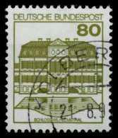 BRD DS BURGEN U. SCHLÖSSER Nr 1140AII Zentrisch Gestempelt X767D3E - Usados
