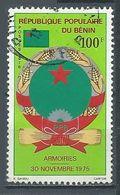 Bénin YT N°366 Armoiries Oblitéré ° - Benin – Dahomey (1960-...)