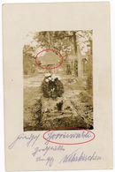 Soldatenleben Cimentiere Borriswalde Argonnen Apremont -  Guerre 14/18 -   WWI Carte  Photo Allemande - Weltkrieg 1914-18