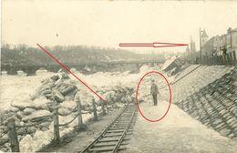 Treibeis - Nyemen - Memel - Litauen  Judaika ? -  Guerre 14/18 -   WWI Carte  Photo Allemande - Lituanie