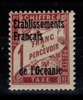 Oceanie - Taxe YV 7 N** - Portomarken