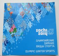 Russia, 2011. The XXII Olympic Winter Games In Sochi. Olympic Winter Sports (gift Set) - Inverno 2014: Sotchi