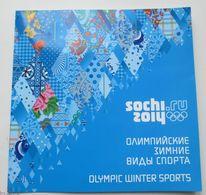 Russia, 2011. The XXII Olympic Winter Games In Sochi. Olympic Winter Sports (gift Set) - Winter 2014: Sochi