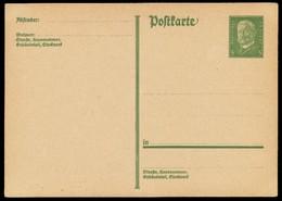 DEUTSCHES REICH Nr P180I UNGEBRAUCHT POSTKARTE X8C361E - Alemania