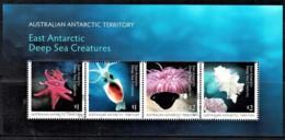 Australian Antarctic 2017 Deep Sea Creatures Minisheet CTO - Territorio Antártico Australiano (AAT)