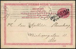 SHIP MAIL 1910 Sweden >Finland Ulkomaalta / Från Utlandet Åbo Paquebot PS Card Steamship Poste Maritime Post Schiffspost - Briefe U. Dokumente