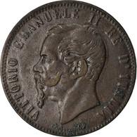 Monnaie, Italie, Vittorio Emanuele II, 10 Centesimi, 1867, Strasbourg, TTB - 1861-1946 : Regno