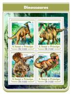 Sao Tome  2017  Dinosaurs - Sao Tome And Principe