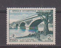 A O F      N°  YVERT  55      NEUF SANS CHARNIERE      ( Nsch 03/16) - A.O.F. (1934-1959)