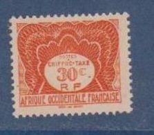 A O F      N°  YVERT  TAXE 2    NEUF SANS CHARNIERE      ( Nsch 03/16) - A.O.F. (1934-1959)