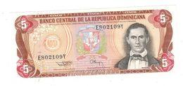 Dominican Republic, 5 Pesos 1994. UNC. - República Dominicana