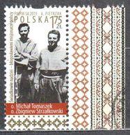 Poland  2015 - Missionary Beatification - Mi.4809 - Used - 1944-.... Republic