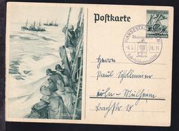 Köln HANSESRADT KÖLN Volksbildungsstätte Rheinposta 6.3.38 Auf Ganzsache - Germany