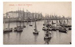 BELGIQUE - OSTENDE - Bassin Des Pêcheurs - Bateaux (J74) - Oostende