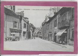 25.-  ORNANS - Une Partie De La Grande Rue - France