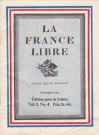 2 Petits  Carnet ,vraiment à Voir ,LA FRANCE LIBRE - 1939-45