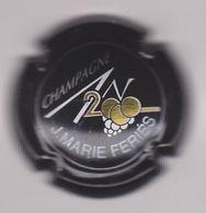 Capsule Champagne FERIES Jean-Marie ( 614 ; Cuvée AN 2000 Fond Noir , Personnalisée Sur Générique 614 ) 8€ {S25-20} - Champagne