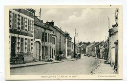 CPA  02 : MONTCORNET   Rue De La Gare     A  VOIR   !!!! - Other Municipalities