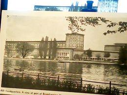 QSL   RADIO  BERLIN  HEADQUARTERS  RBI BROADCASTING HOUSE  RIVER SPREE 1986 HQ9501 - Radio Amatoriale