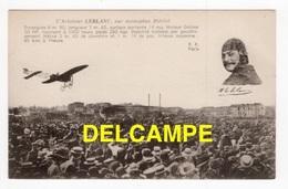 DF / AVIATION / L'AVIATEUR LEBLANC SUR MONOPLAN BLÉRIOT / ANIMÉE - Flieger
