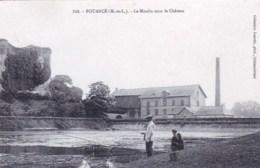 49 - Maine Et Loire -  POUANCE - Le Moulin Sous Le Chateau ( Pecheurs A La Ligne ) - Autres Communes