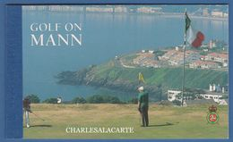 ISLE OF MAN 1997  GOLF  COMPLETE PRESTIGE BOOKLET. S.G. SB 46 - Man (Ile De)