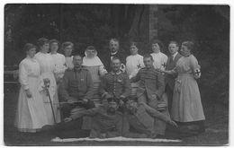 14 - 18 : Personnel D'un Centre De Secours Allemand - Guerra 1914-18
