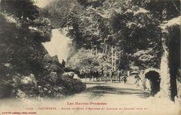 Les Hautes Pyrénées CAUTERETS  Route Du Pont D' Espagne Et Cascade Du Cerisey (1235m) Attelage Labouche RV - Cauterets