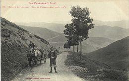 Les Pyrénées (4e Serie) Vallée Du Louron (Alt 1545m) Attelage Chevaux  Bon Plan Labouche  RV - Sonstige Gemeinden