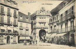 CAUTERETS  Place Saint Matin  Commerces  Hotels  RV - Cauterets