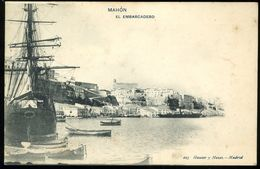 Mahon El Embarcadero Hauser Menet Pionero Menorca - Menorca
