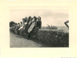 ITALIE FEMME DEGUSTANT LA LERINA PHOTO ORIGINALE 12.50 X 9 CM - Orte