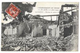 CPA 13 LAMBESC Tremblement De Terre 11 Juin 1909 - Maison En Ruines - Lambesc
