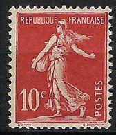 FRANCE 1906: Le Y&T 134,  Neuf**,  B à TB - 1906-38 Sower - Cameo