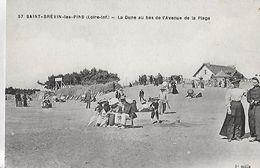 Saint-Brevin-les-Pins. La Dune Animée Au Bas De L'avenue De La Plage. - Saint-Brevin-les-Pins