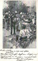 Illustration J.C. Dalmeijer - Militaria Nederland: Voor De Derde Maal Gekleed (habillé Une 3ème Fois) - Niños