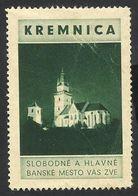 SLOVAKIA--STAMP POSTER--KREMNICA--O.G. - Slovacchia
