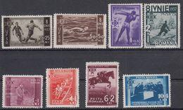 ROEMENIË - Michel - 1937 - Nr 528/35 - MH* - Nuevos