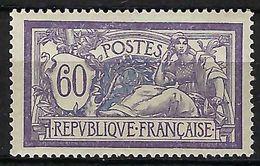FRANCE 1907: Le Y&T 144 , Neuf**,   B à TB - 1900-27 Merson