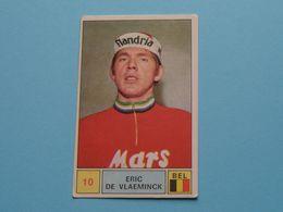 ERIC DE VLAEMINCK België ( Sprint 71 >  Nr. 10 ) - Figurine PANINI Modena ( 2 Scans ) ! - Wielrennen