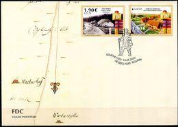 Europa 2020 - Eestie Estonia Estonie - Anciennes Routes Postales - Ancient Postal Routes FDC - Europa-CEPT